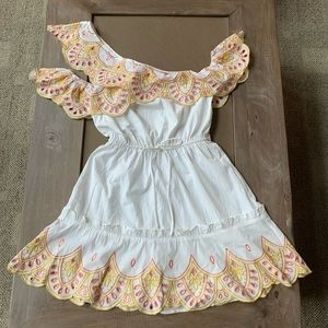Lovers and Friends white eyelet dress